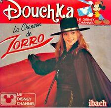 DOUCHKA la chanson de zorro/robin des bois des grandes cités SP 1985 IBACH VG++