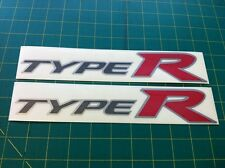 FN2 Civic Type R OEM Size Reproduction Decals Stickers Graphics