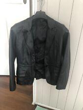 leather blazer Bay Brand