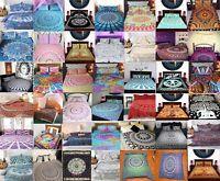 Indian Mandala Duvet/Doona/Quilt Cover Set King/Queen/Single Size Bedding Throw