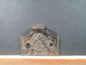 cast metal window sash lifter or handle  Victorian, fancy  decorations # 9