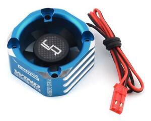 Yeah Racing 30x30 Aluminum Case Booster Fan (Blue) [YEA-YA-0576BU]