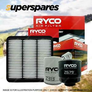 Ryco 4WD Filter Service Kit for Mitsubishi Triton 2.5 ML MN Turbo Diesel