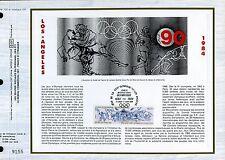 DOCUMENT CEF PREMIER JOUR  1984  TIMBRE N° 2314 SPORT MOUVEMENTS LOS ANGELES
