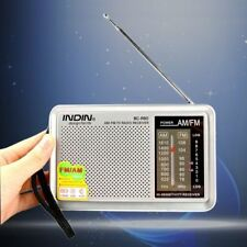 Portable Pocket Radio Am/fm Receiver Built in Speaker Universal High Quality