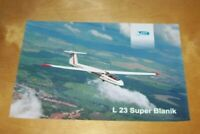LET of Czech Republic L 23 SUPER BLANIK TWO SEATER TRAINING GLIDER INFORMATION