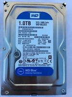 "WD 1TB 3.5"" Desktop Hard Disk Drive WD10EZEX 7200 RPM SATA 6Gb/s 64MB HDD HD"