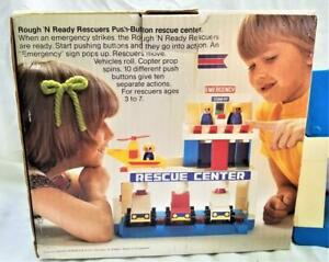 ROUGH'N READY RESCUERS PUSH-BUTTON RESCUE CENTER - SEARS 1970's