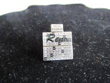 White/Black Mafco Keno $50,000 Reno Hat Tac/Lapel Pin, Fashion Accessory