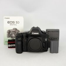 Canon Eos 5D Digital Slr Camera Body w/ Original Owner's Manual - 18K Shutter