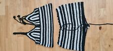 Zara Beach Knitted Shorts And Top Size S