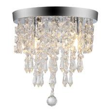 PENDANT CEILING LAMP Modern Crystal Fixture Light Chandelier Flush Mount