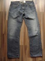 @ Levi's @ Jeans Herren blau W34 L32 Modell 514 Slim Straight