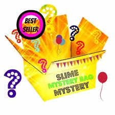 Mystery Slime 8 oz + EXTRAS Floam Clear Butter Scented slushie avalanche cloud