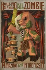 Minecraft - Half Man Half Pig All Zombie POSTER 60x80cm NEW * Fiery Nether