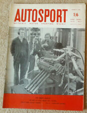 Autosport 4th August 1961 Ford Galaxie Sunliner road test, BRM V8 engine