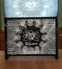 HORLOGE / PENDULE quartz ORTF vintage 🕰  design générique eurovision  📺