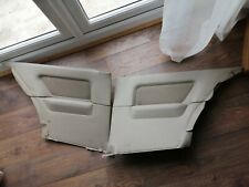 BMW E30 2 DOOR REAR CARDS HOUNDSTOOTH PAIR