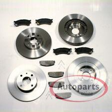 Mazda 323 6 Año Fab. - Discos de Freno Zapatas Para Delantero Trasero
