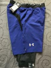 UNDER ARMOUR 2 in 1 LAUNCH SW LONG RUNNING FITTED SHORTS SIZE M MEN NWT $50.00