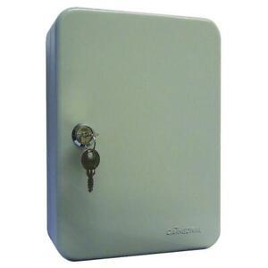 Lockable Wall Mounted Key Cabinet - 20 Key Capacity