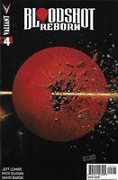 Bloodshot Comic Reborn 4 Cover E Variant 2015 Jeff Lemire Mico Suayan Valiant
