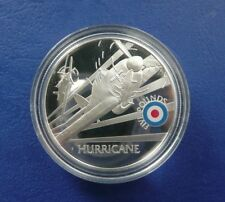 ST. HELENA & ASCENSION 2008 5 POUND PROOF HURRICANE W/COA