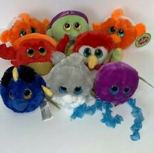 LOT OF 8 PLUSH Lubby Cubbies SEA LIFE Kids Stuffed Animal TOY COLLECTABLE
