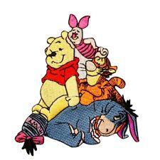 Winnie the Pooh & Friends Patch Tigger, Piglet, Eeyore Disney Iron On Applique