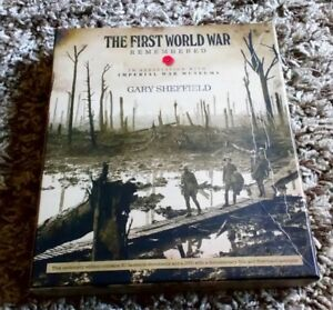 THE FIRST WORLD WAR REMEMBERED CENTENARY EDITION DVD BOOK & DOCUMENTS SHEFFIELD