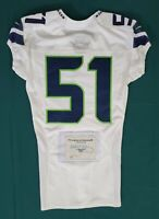 Seattle Seahawks Blank #51 Team Issued Road Jersey with COA - SA 09297