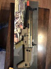 Airsoft FN Scar-L AEG Rifle Tan Metal