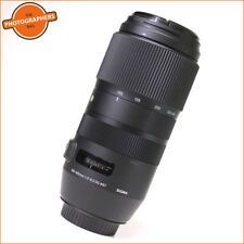 Sigma 100-400mm f5-6.3 DG OS HSM Contemporary Canon Lens Free UK Post
