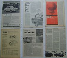 Daf Daffodil Collection of 6 Articles from various Magazines