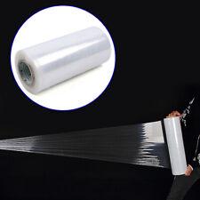 "18"" x2000' 60 Gauge Cast Hand Stretch Wrap Plastic Shrink Film 3"" Core 8 Rolls"