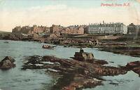 Rare Vintage Postcard - Portrush From N.E. - Antrim, N.Ireland (July 1912).