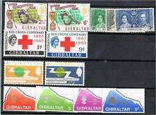 Gibraltar (1937-89) - Small lot of Mh stamps - Vf