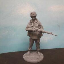 1/16 120mm 1980's MODERN BRITISH FALKLANDS SOLDIER WITH HELMET
