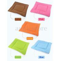 M/L/XL Cat Dog Mat Pet Pad Blanket Puppy Soft Cushion Warm Sleeping Bed US