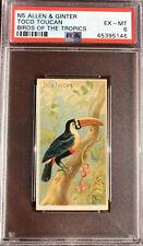 1889 N5 Allen & Ginter Birds Of The Tropics TOCO TOUCAN PSA 6 EX-MT Pop 3 None ^