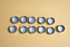 """11 Engine Oil Galley Plugs 555-009 19/32"""" 0.594 0.10 Oversize Chevy Olds"""