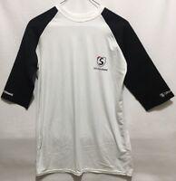Shoulder Shield Atheletic Baseball Warm Up Shirt Pain Protection Mens Size XXL