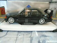 Mercedes Benz 190e 190 2.5-16v evo 2 negro Black 1992 solido nuevo 1:18