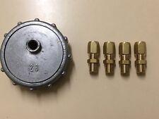 EC21x5 Nitrile Rubber End Cap Plugs Seal 21mm Outside Diameter 5mm Width