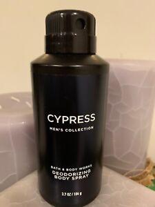 Bath & Body Works CYPRESS Men's Deodorizing Body Spray 3.7 oz All Over Mist New