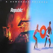 NEW ORDER - Republic (Vinyl LP) 180 Gram - 2015 - NEW