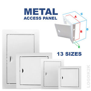 Metal Access Panel Inspection Revision Plastic Door Service Point Hatch PH Loft