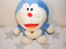 vtg DORAEMON Japanese Plush Stuffed animal toy Cartoon Cat Fujiko 1970 Bell NWT