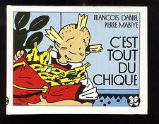 Collection X FUTUROPOLIS n°51  DANIEL & MABIYE   C'est tout du chiqué    EO 1987