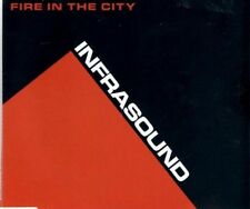 INFRASOUND Fire in the City   3 TRACK CD  NEW - NOT SEALED